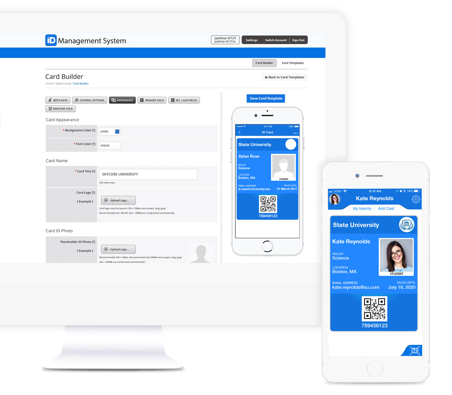 Digital ID Card Management System