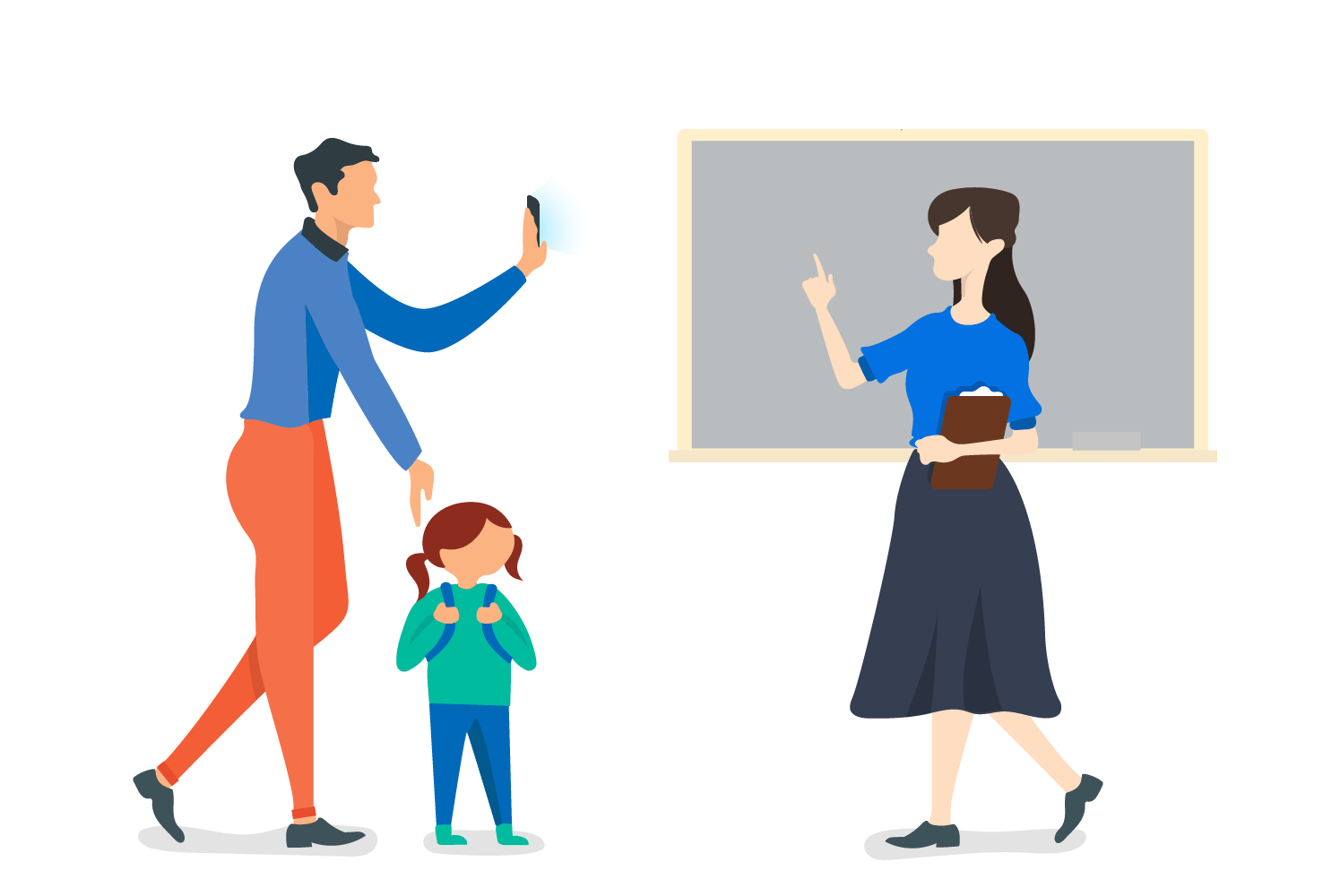Digital ID Cards for Parents and Teachers