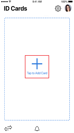 Tap to Add Card